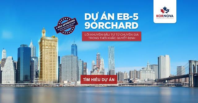 """Cơ hội định cư tại Mỹ với dự án """"siêu khách sạn 9Orchard"""""""