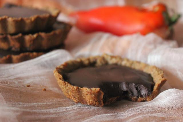 https://cuillereetsaladier.blogspot.com/2014/09/tartelettes-chocolat-poivrons-balsamique.html