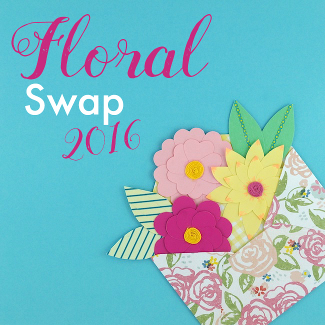 Omiyage Blogs: The Pretty Postal Floral Swap