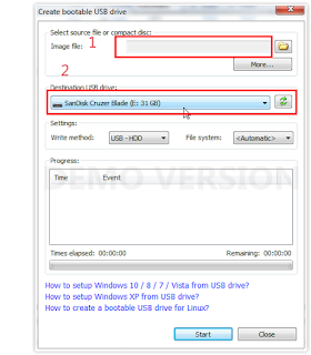 Cara Burning Windows Ke falshdisk dengan PowerISO