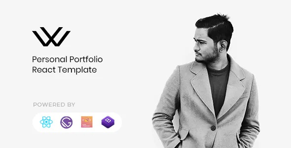 Best Personal Portfolio React Template