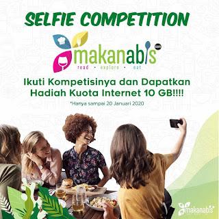 Lomba Selfie Makan Abis Berhadiah Kuota Internet 10 GB