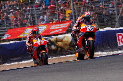 Merasa Dimanfaatkan, Pedrosa Permalukan Marquez di Kualifikasi