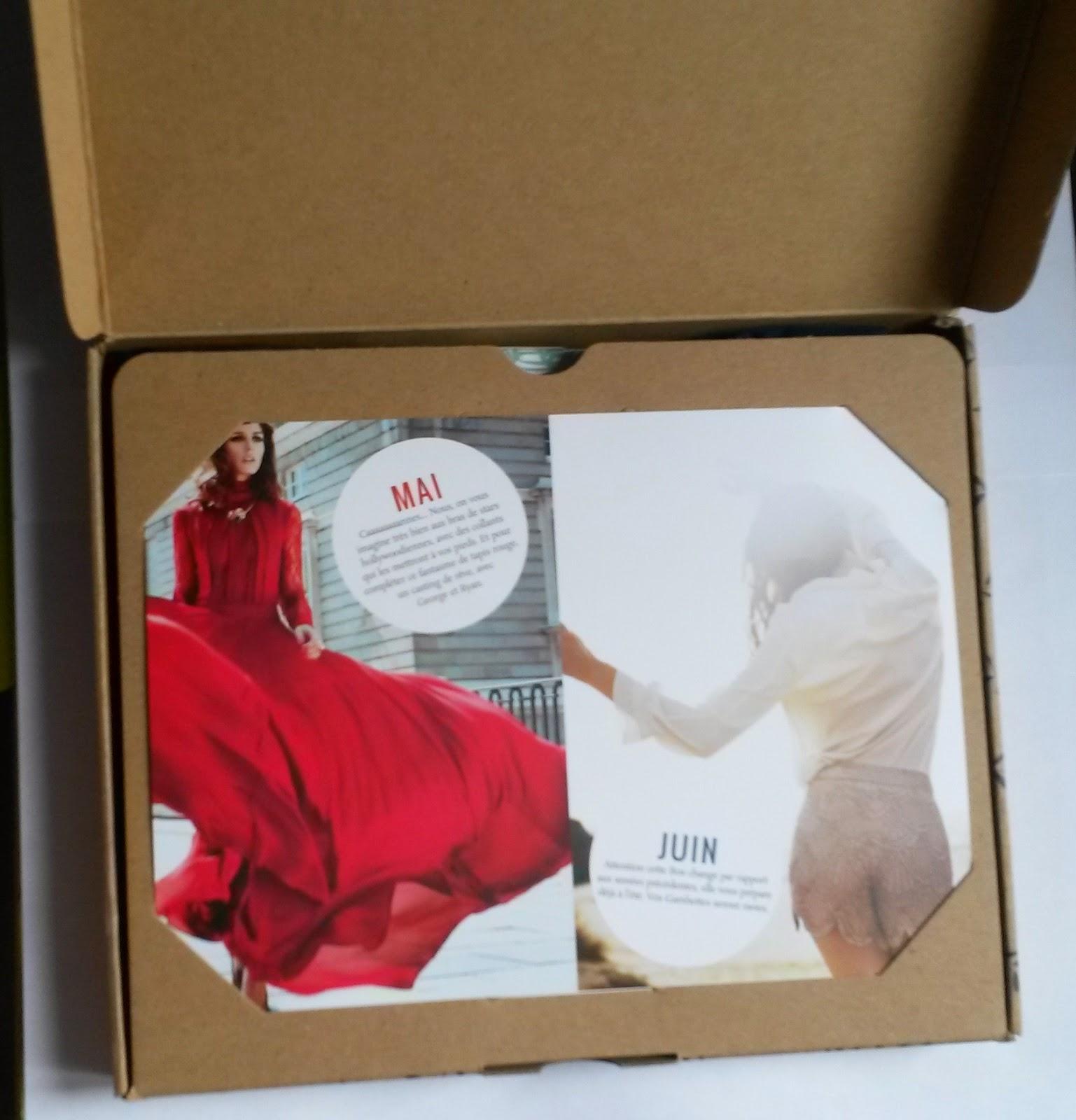 Gambettes Box Avril 2015