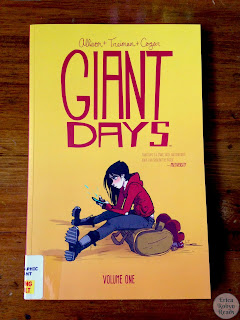 Giant Days graphic novel photo