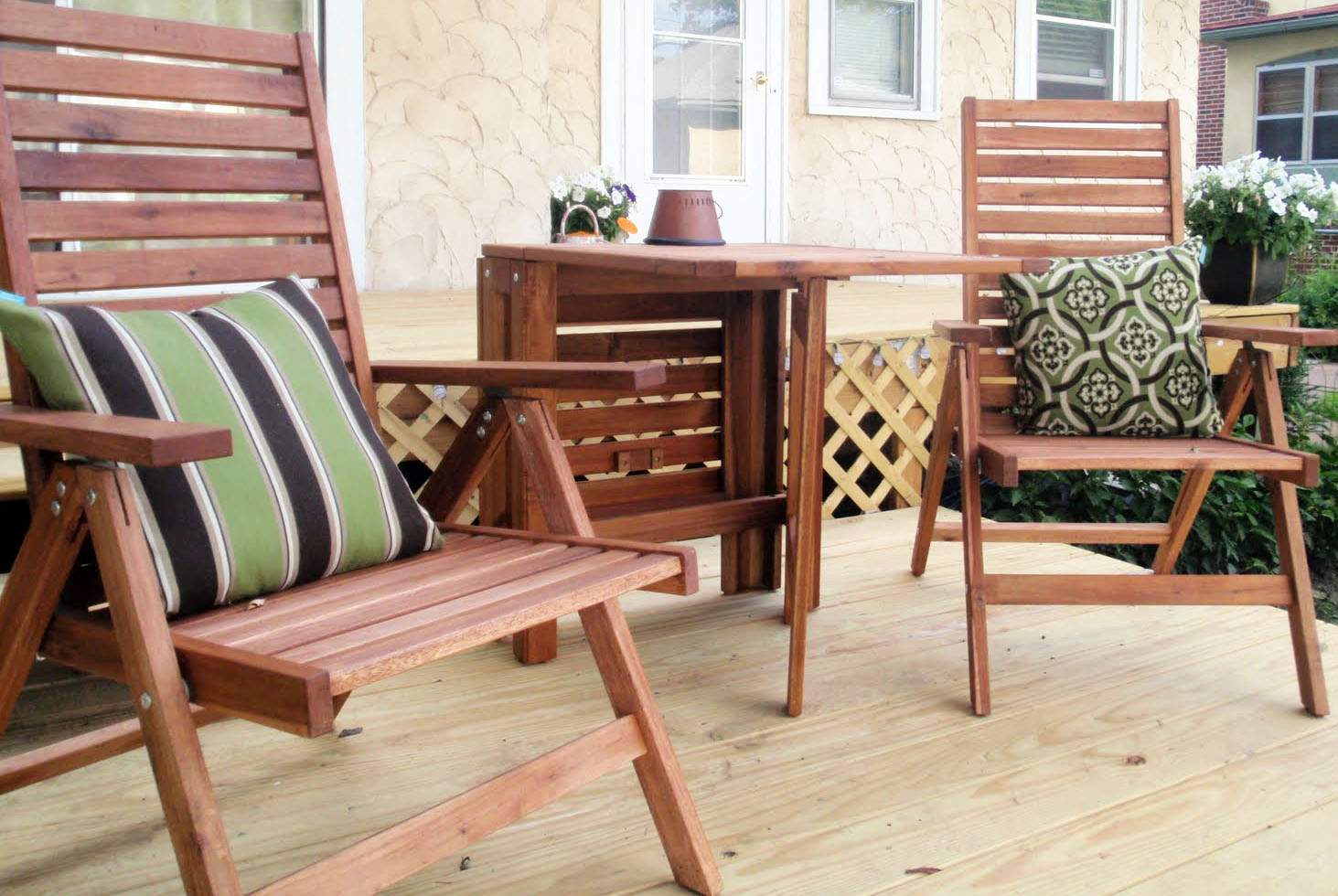 Hammers And High Heels: Patio Furniture Refresh & Outdoor