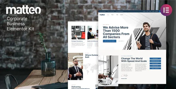 Best Corporate Business Elementor Template Kit