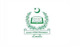 Quaid-e-Azam University Jobs August 2021