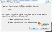 Tutorial cara menyembunyikan file di Komputer