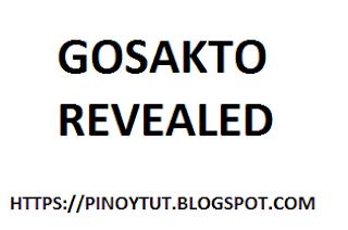 Gosakto Bug Revealed