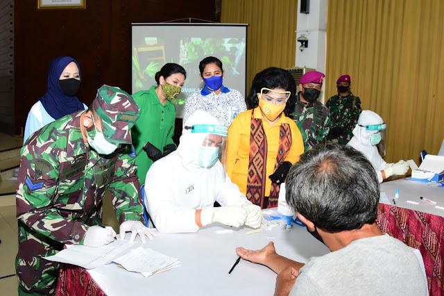 Rapid Test Dharma Pertiwi dan OASE Kabinet Kerja, Lindungi Diri dan Keluarga dari COVID 19