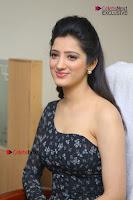 Telugu Actress Richa Panai Stills in One Shoulder Floral Long Dress at Rakshaka Bhatudu Movie Interview  0168.JPG