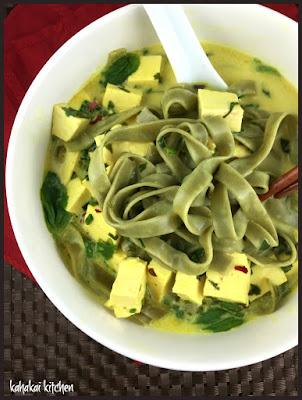 "Kahakai Kitchen: Heidi Swanson's ""Slurp-tastic Curry Herb Noodles&qu..."