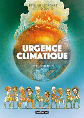 Couverture de la BD Urgence climatique - il est encore temps!