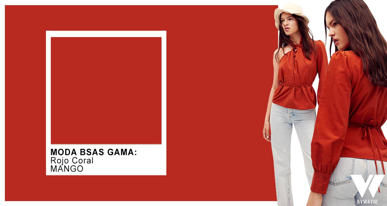 rojo colores de moda verano 2022 colores 2022