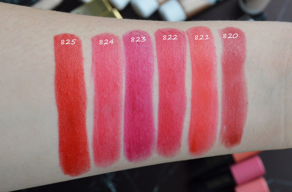 Eveline pomadki Aqua Trend Red Collection