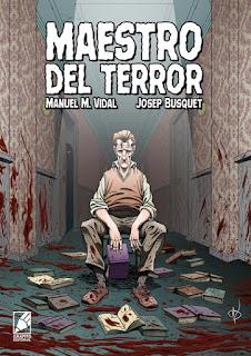Lanzamiento de MAESTRO DEL TERROR de Grafito Editorial.