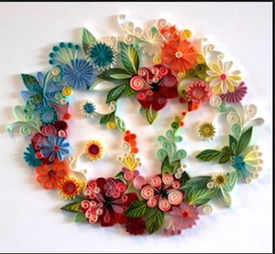 Inspirasi Hiasan Dinding  Dari Kertas Yang Membuat Anda  Kerasan Di Dalam Kamar 8