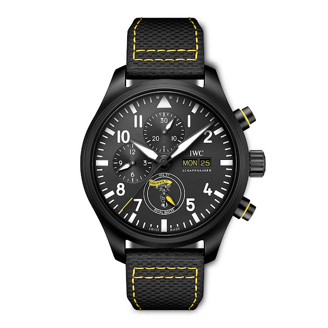 """IWC Pilot's Watch Chronograph Edition """"Royal Maces"""" (ref. IW389107)"""