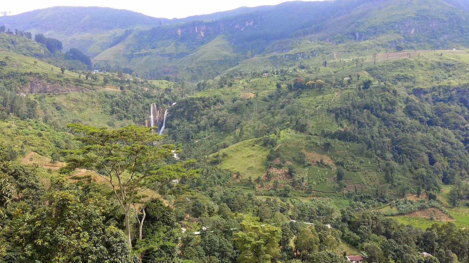 Montañas centrales de Sri Lanka