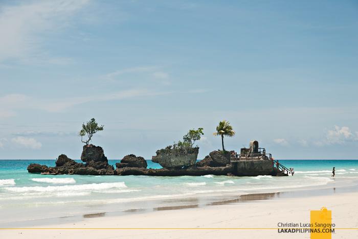 Boracay Beach Willie's Rock
