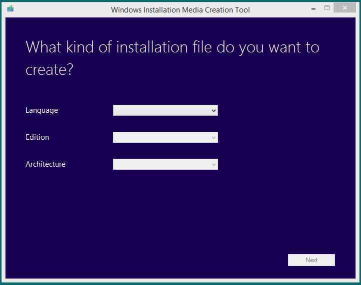 Download Windows 8.1 OEM Restore Media 3