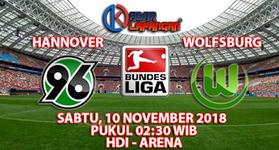 Prediksi Bola Hannover vs Wolfsburg 10 November 2018
