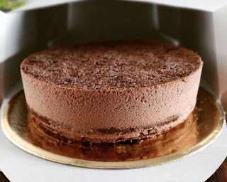 Torta de Mousse de de Chocolate.