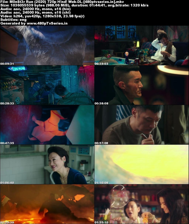 Watch Online Free Monster Run (2020) Full Hindi Dual Audio Movie Download 480p 720p 1080p BluRay