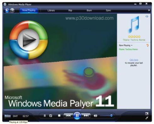 Windows Media Player 11 full gratis