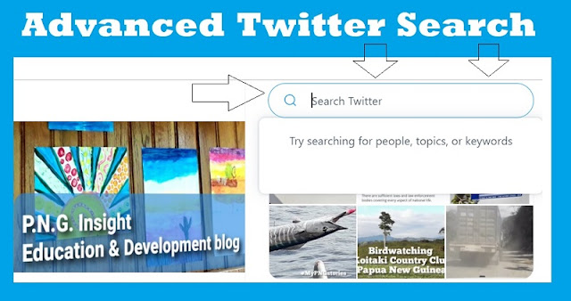 How to Advanced Twitter Search