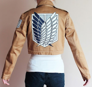 Attack on Titan - scouting regiment cosplay jacket.