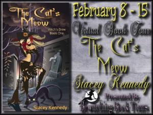 The Cat's Meow Tour Button