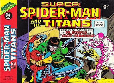 Super Spider-Man and the Titans #216, Hammerhead and Dr Octopus