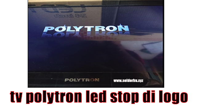 tv polytron led stop di logo