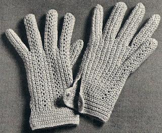 Vintage Gloves Crochet Pattern