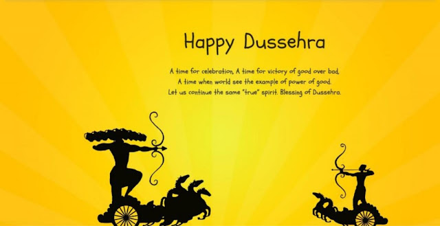 why dussehra is celebrated after navratri