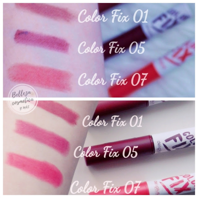 Color fix Swatches 01 05 07