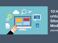 10 Hal Penting untuk Desain Situs Web Bisnis Modern