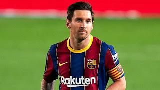 World best footballer is messi