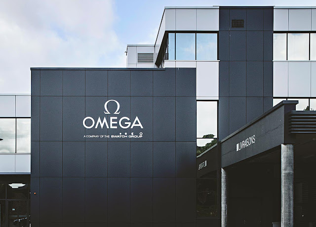 The Omega factory in Villeret where mechanical movements are assembled