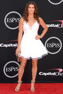 Auto Racing Shoes >> Danica Patrick Red Carpet Photo & Shoes – Meeko Spark TV
