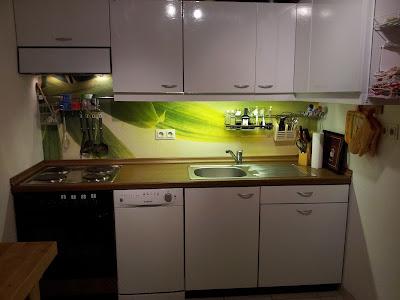 Arbeitsplatte Küche Bekleben