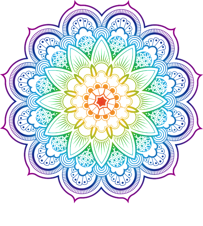 Mandala Coloring book Buddhism Illustration, Datura flower color, mandala floral artwork, flower Arranging, color Splash, child png free png
