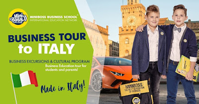 MINIBOSS BUSINES TOUR TO ITALY