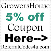 GrowersHouse Coupon Code 2017, Growers House Promo Code January, February, March, April