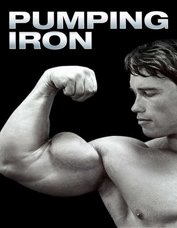 Poster Of Pumping Iron 1977 Hindi Dual Audio 130MB BluRay HEVC Mobile ESubs Free Download Watch Online downloadhub.in