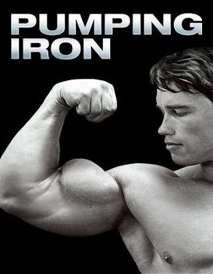 Poster Of Pumping Iron 1977 Full Movie In Hindi Dubbed Download HD 100MB English Movie For Mobiles 3gp Mp4 HEVC Watch Online