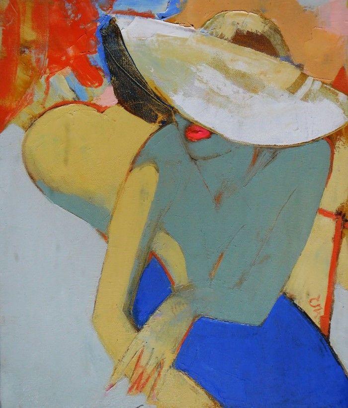 Цвет и композиция. Молдавский художник. Victoria Cozmolici