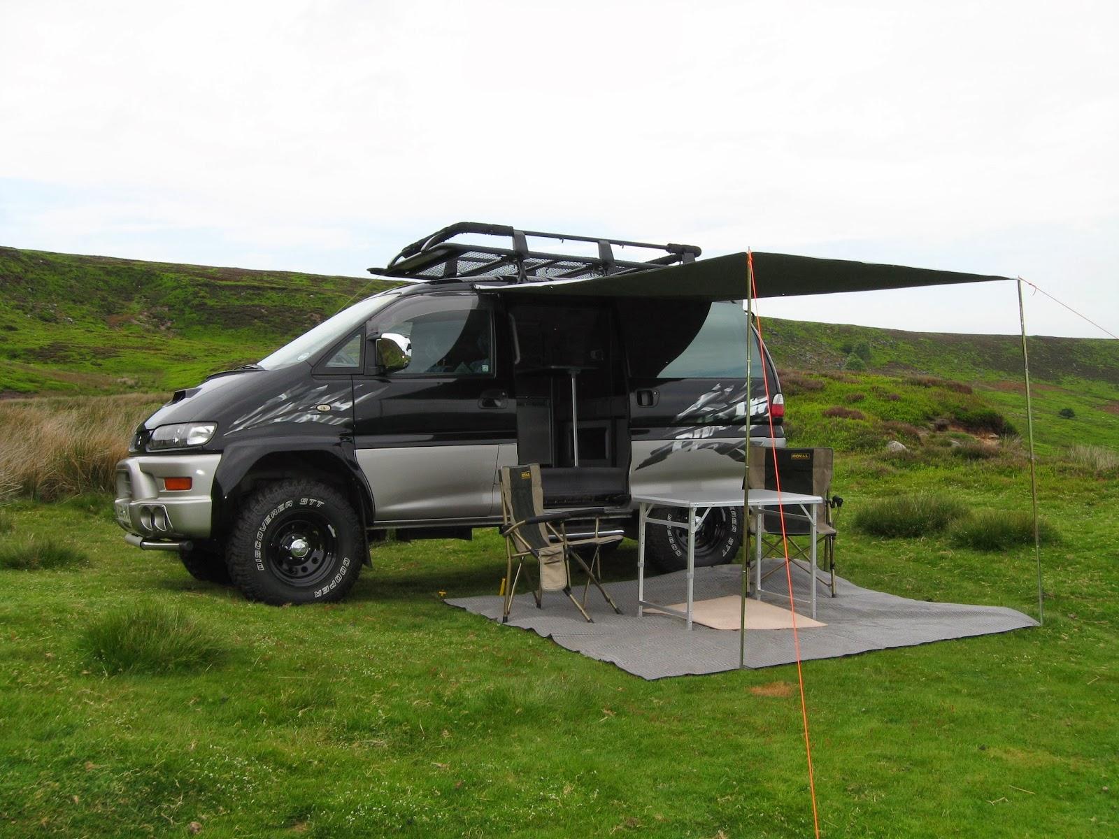 Hiace Hobo - Living in a Toyota Camper Van: Mitsubishi Delica